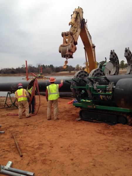 Underwater Utility Directional Bore Pierce County, WA